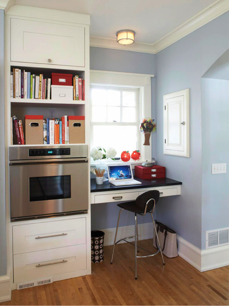 Five most wanted features in a new house for Kitchen office nook